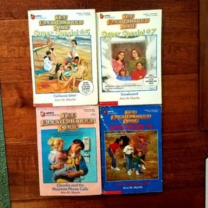 Babysitters Club four book variety bundle